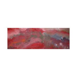 Abstrato do vermelho nas canvas #2