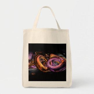 Abstrato dos grafites bolsas para compras
