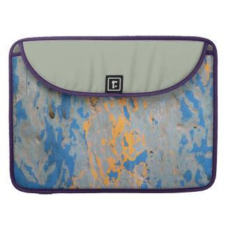 """Abstrato em Macbook azul pro 15"""" Bolsas Para MacBook"""