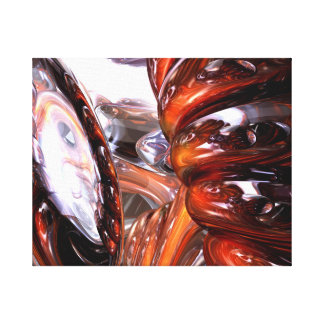 Abstrato espiral da dimensão impressão em tela