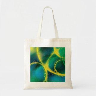 Abstrato esverdeado bolsa para compra