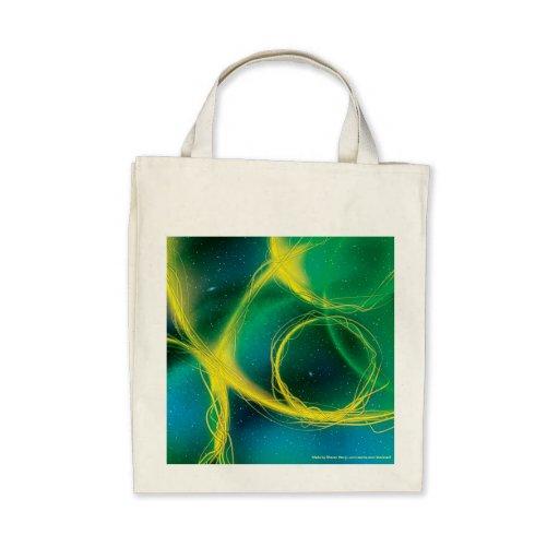 Abstrato esverdeado bolsa