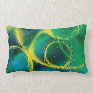 Abstrato esverdeado travesseiros