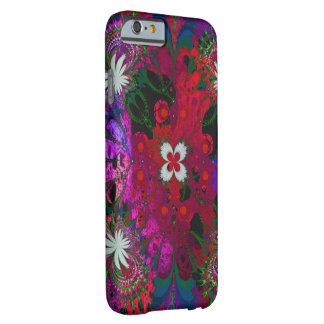 Abstrato floral de Hodge Podge Capa Barely There Para iPhone 6