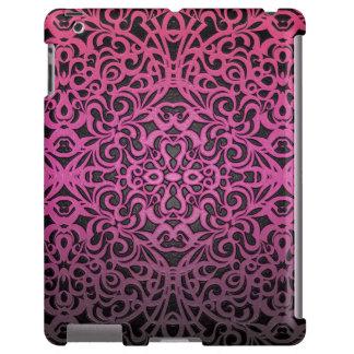 abstrato floral do iPad mal lá Capa Para iPad