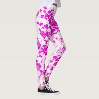 Abstrato floral legging