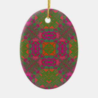 Abstrato fluorescente ornamentos