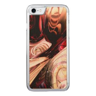 Abstrato fraturado da alma capa iPhone 8/ 7 carved
