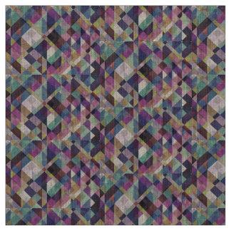 Abstrato geométrico colorido do teste padrão tecido