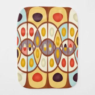 Abstrato geométrico ondulado pano de boca