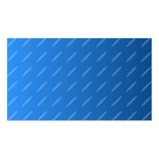 Abstrato moderno do azul Teste padrão fino dos Ov Cartao De Visita