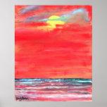 abstrato moderno do impressão da arte da pintura d