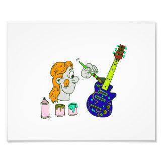 abstrato orangish png colorido da guitarra da pint impressão de fotos