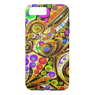 Abstrato original louco capa iPhone 7 plus