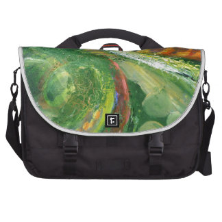 Abstrato verde bolsa para computador portátil