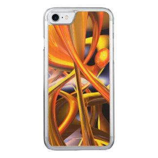 Abstrato vibrante do amor capa iPhone 8/ 7 carved