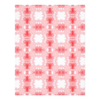 abtrato rosa de imagem de padrão panfletos coloridos