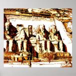 Abu Simbel - Impressão