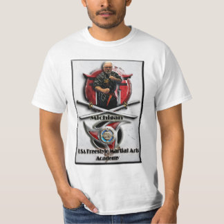 Academia das artes marciais do estilo livre dos camiseta