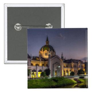 Academia das belas artes, do Sarajevo, da Bósnia e Bóton Quadrado 5.08cm