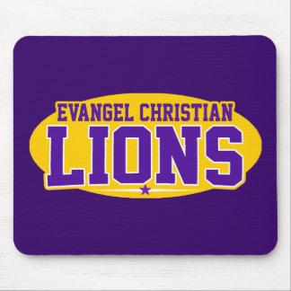 Academia do cristão do Evangel Leões Mousepads