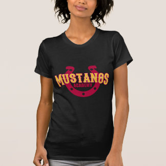 Academia do mustang tshirts