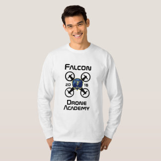 Academia do zangão do falcão camiseta