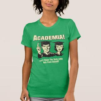 Academia: Loucos saborosos de Havaí Tshirts