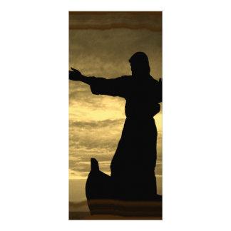 Acalmará suas tempestades; Sepia 10.16 X 22.86cm Panfleto