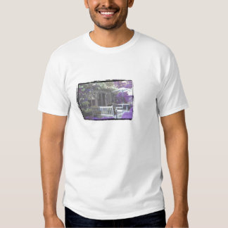 Acampamento de confecção de malhas do verão de t-shirt