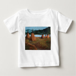 Acampamento de Verão Camiseta Para Bebê