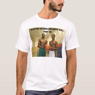 Acampamento individual da habilidade da camiseta