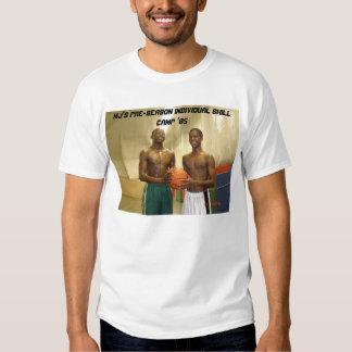 Acampamento individual da habilidade da t-shirt