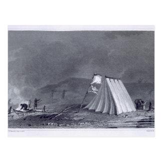 Acampamento na angra de Browell, o 15 de julho de Cartão Postal