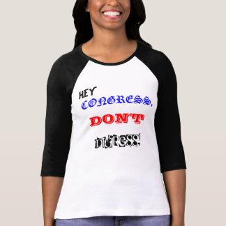 Ação do congresso camiseta