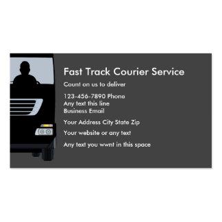 Acards da empresa de serviços do correio cartão de visita