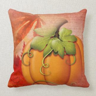 Acção de graças e outono rústicos almofada