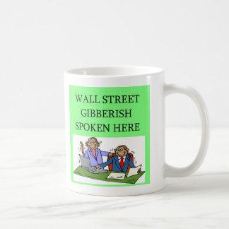 accionista do mercado de valores de acção de Wall Caneca
