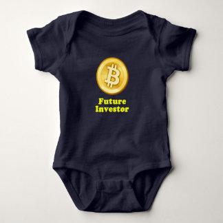 Accionista futuro body para bebê