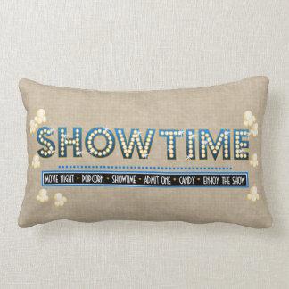 Acento do azul do descanso de Showtime do cinema Travesseiro De Decoração