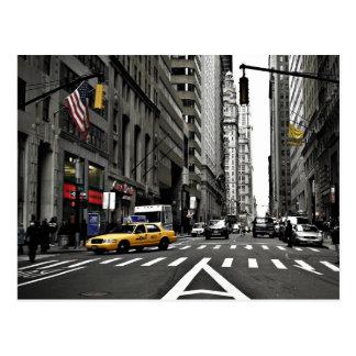 Acima de Broadway Cartão Postal