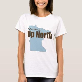 Acima do norte - Minnesota Camiseta