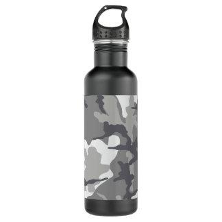 Aço cinzento de Camo 24 onças. garrafa de água