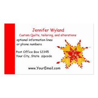 Acolchoado, alterações, artesanatos, Sewing Cartão De Visita