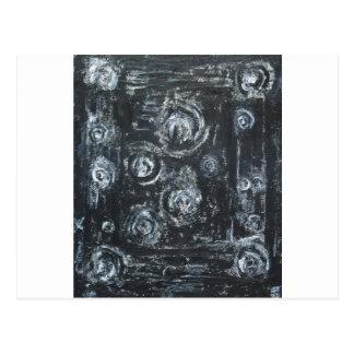 Acordares dos redemoinhos (expressionism abstrato) cartão postal