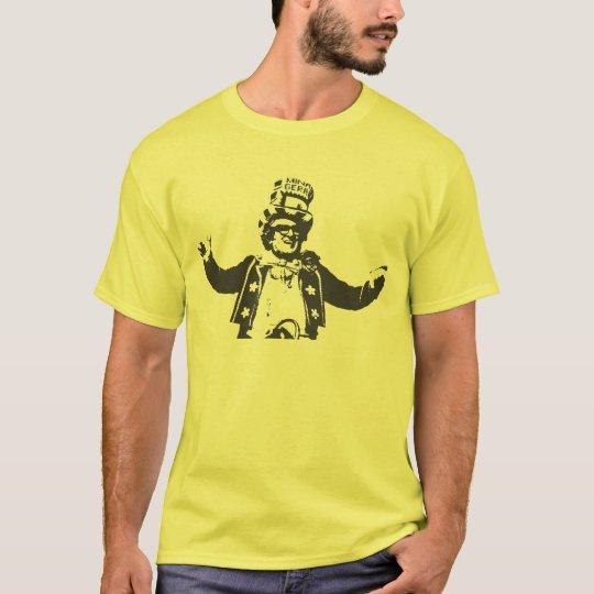 Acordou com o chacrinha hoje? camiseta