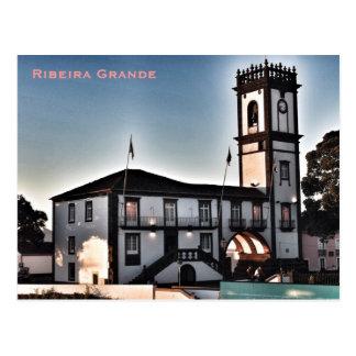 Açores - cartão grandioso de Ribeira