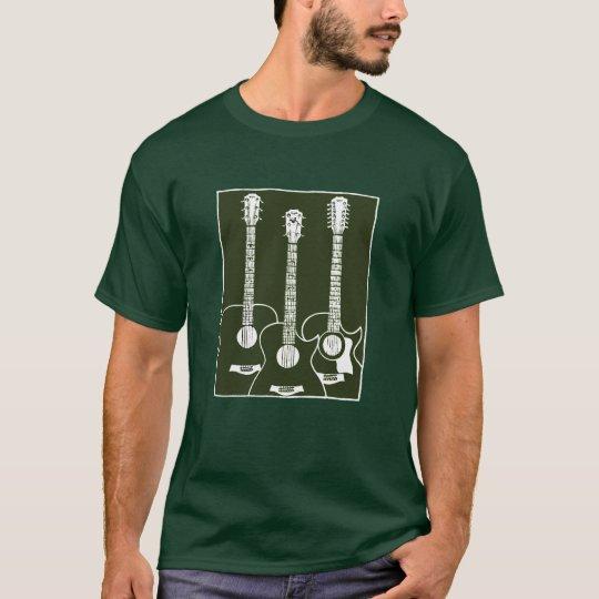 acoustic guitars camiseta