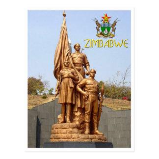 Acre dos heróis, cartão de Harare - de Zimbabwe