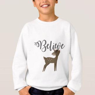 Acredite a camisa de Rudolph da rena do bebê